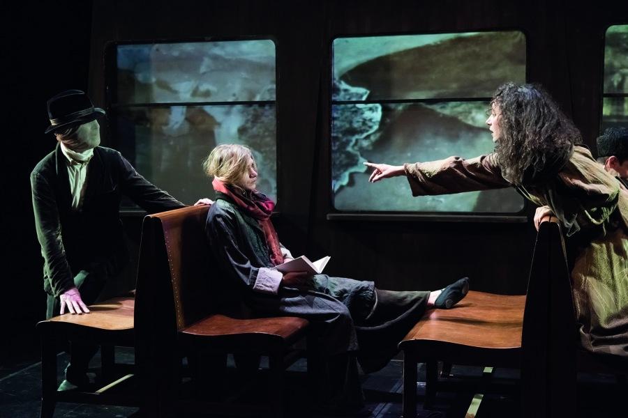 Odeon Theater Wien, Produktion 'Am Abend der Avantgarde', 2016